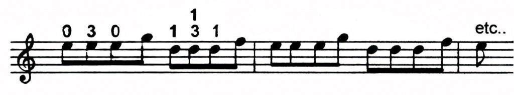 Alternate fingering Freddie Hubbard lick - Jazz lick 19