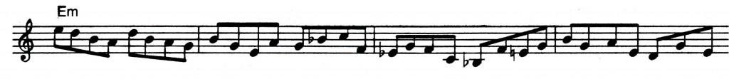 Pentatonic - Jazz lick 27
