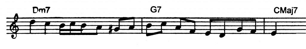 Old school ii V7 I Jazz lick to learn in 12 keys.